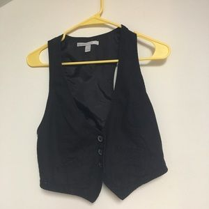 Small Fitted Black Vest